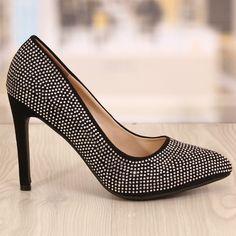 Pantofi Dama Stellar Negrii Cod: 763 Cod, Pumps, Shoes, Fashion, Moda, Zapatos, Shoes Outlet, Fashion Styles, Cod Fish