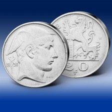 Stříbrná mince 20 Franků Merkur
