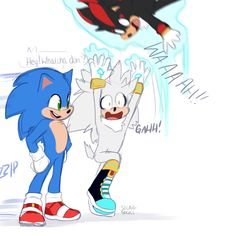 Shadow The Hedgehog, Sonic The Hedgehog, Hedgehog Movie, Hedgehog Art, Silver The Hedgehog, Sonic Funny, Funny Vidos, Funny Relatable Memes, Sonic Adventure