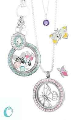 Origami Owl Spring Collection. Order Here: www.lovelyinlockets.origamiowl.com