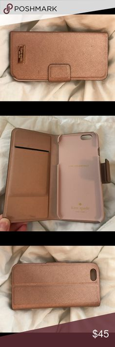 Kate Spade iPhone 6 case Light pink Kate Spade iPhone 6 case, in good condition kate spade Accessories Phone Cases