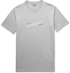 Lanvin - Slim-Fit Reflective-Trimmed Mercerised Cotton-Jersey T-Shirt