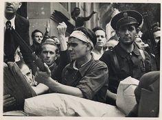 Guerra Civil Española. Defensa de Madrid.