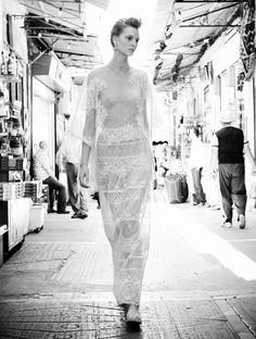 VOGUE Hellas July 2012   Title : Greek Pride.  Photography : Thanassis Krikis.  Model : Ros Georgiou.
