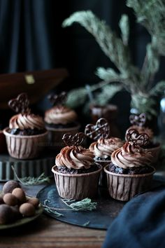 Merceditas Bakery: San Valentín: Cupcakes de chocolate y café