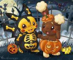 Pokemon hallowen