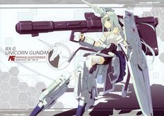 Unicorn Gundam Girl