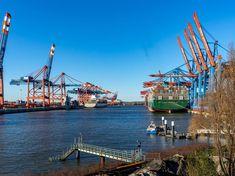 Port of Hamburg, 2019 Historical Photos, San Francisco Skyline, Past, Europe, City, Amazing, Places, Travel, Shoes
