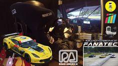 Project Cars [US RACE CAR PACK] - Chevrolet Corvette C7.R @ Road America [SimXPerience + Fanatec]