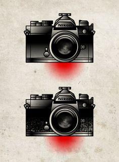 camera tattoo traditional   Tumblr