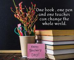 Birthday Wishes For Teacher, Teachers Day Wishes, Teachers Day Poster, Happy Teachers Day, Pig Wallpaper, Cute Girl Wallpaper, Teachers Day Pictures, Message For Teacher, Flower Art Drawing