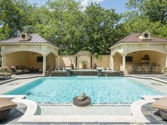 Estate of the Day: $3.4 Million French Country Mansion in Dallas, Texas - Pool