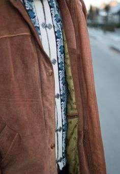Vintage suede jacket with hood | Protect Me | ASOS Marketplace