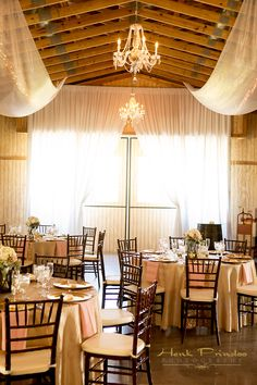 Henk Prinsloo Photography -  Up The Creek Farms - Our barn doors dressed up with drapery! - Wedding Venue - Florida