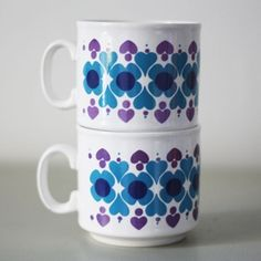 Staffordshire Coffee Cups