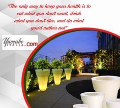 """""""The only way to keep your health is to eat what you don't want, drink what you don't like, and do what you'd rather not""""  Visit: www.yuccabeitalia.com or Call +91 8586040303  #FiberGlassPlanters #HangingwallPlanters #CeilingHangingPlanters ##Delhi #Gurgaon #Noida #Pot #Decorations #Pots #Flowers #Planters #India #Online #Buy Hanging Wall Planters, Planter Pots, Fiberglass Planters, India Online, The Only Way, Decorations, Drinks, Eat, Flowers"""