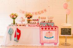 Festa Infantil, tema chef de cozinha