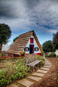Casa das Flores, Madeira, Portugal, traditional home of Madeira Islands, Portugal