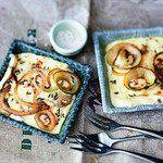 Raclette-Rezept: Raclette-Pfännchen mit Zwiebeln und Speck