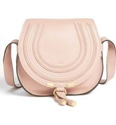 24c935703b022 Chloé  Mini Marcie  Leather Crossbody Bag