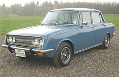 Toyota Corona- the car I remember my grandfather driving me around in when a little girl :)