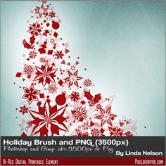 Free Download: Photoshop Brushes Holiday Christmas and PNG FREEBIE ...