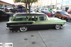 1958 Chevrolet Nomad stationwagon at the 2011 #SEMA Show