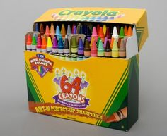A new box of crayons!
