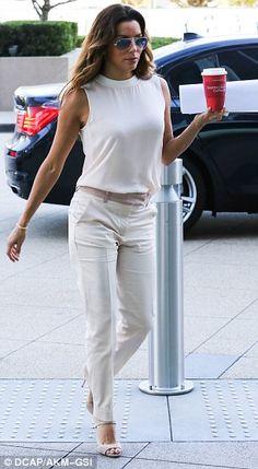Eva Longoria + pants