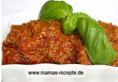 Tomatenpesto   Mamas Rezepte - mit Bild und Kalorienangaben