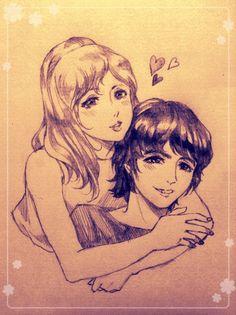 Pattie and George by wakonaga.deviantart.com on @DeviantArt