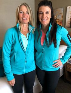 Please meet Elite Athletes: Nancy and Mellisa. Amazing Race, Athletes, Meet, Zip, Jackets, Style, Fashion, Down Jackets, Swag
