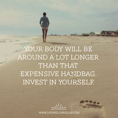 body quote, health and fitness quote, invest in yourself Invest In Yourself Quotes, Expensive Handbags, Body Quotes, Social Media Engagement, Health Quotes, Chiropractic, Positive Mindset, Verses, Investing