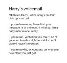 Congrats Neville!!! Ron, get a life, and Hermione, go free the elves or something nerdy-I'll come help you