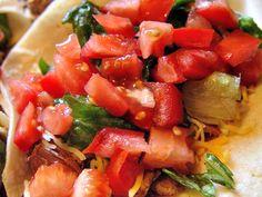 Add diced tomatoes (I like Romas)