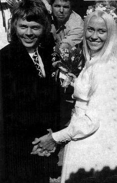 Bijorn & Agnetha of Abba get married