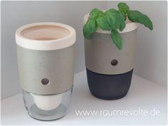 Pflanztopf Pottina & Pottone für Kräuter, Blumen
