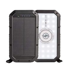 #SOZO #Rugged #Solar #Portable #PowerBank for #iPhone and #Android