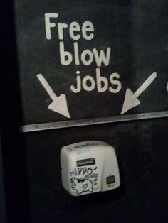 Local bar bathroom - Free blow jobs #Followme #CooliPhone6Case on #Twitter #Facebook #Google #Instagram #LinkedIn #Blogger #Tumblr #Youtube