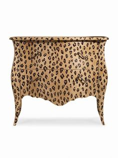 You could do this on any painted furniture diy Funky Painted Furniture, Paint Furniture, Repurposed Furniture, Furniture Projects, Furniture Makeover, Antique Furniture, Furniture Design, Animal Print Furniture, Safari Decorations