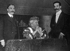 La condesa de Pardo Bazán en una lectura en el Ateneo de Madrid