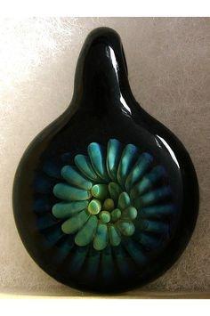 # Trilobyte Borosilicate Glass # By: Mickeyartglass