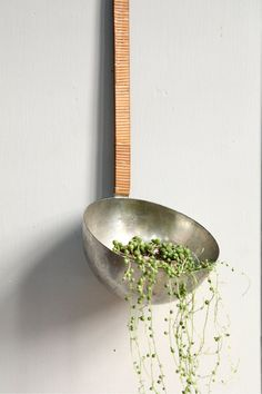 Giant Vintage French Industrial Ladle Planter / by ethanollie, $48.00