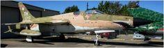 63-8343 F105F Status: On Display at Cavanaugh Flight Museum, Addison, TX.