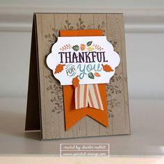 Thankful Forest Friends - WWYS Challenge #37 — Painted Orange #WWYS37