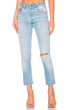 Looking for Levis High Rise Ankle Crop RE/DONE Collections ? Check out our picks for the Levis High Rise Ankle Crop RE/DONE Collections from the popular stores - all in one. Denim Shirt With Jeans, Cropped Jeans, Mom Jeans, Skinny Jeans Style, Parker Black, Revolve Clothing, Online Shopping Stores, High Waist Jeans, Vintage Fashion