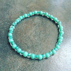 ॐ Yoga ६ Meditation Bracelet ७ Turquoise Protects the wearer from Negative Energy, ७Brings Good Fortune & Peace to the Home. It is also a symbol of Friendship  Hand Made with Love👌  Infused with Energy  #MalaBeads #meditation #yoga #jewelry #yogajewelry #turquoise #meditationbeads
