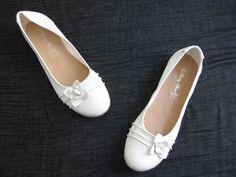 Ballerines mariage blanches à fleur Taille 40