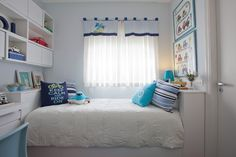 projeto quarto de menino azul