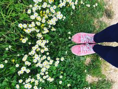 Shoes! Flowers! Spring! Tumblr